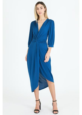 3rd Love The Label 3rd Love Kylie Twist Drape Midi Dress