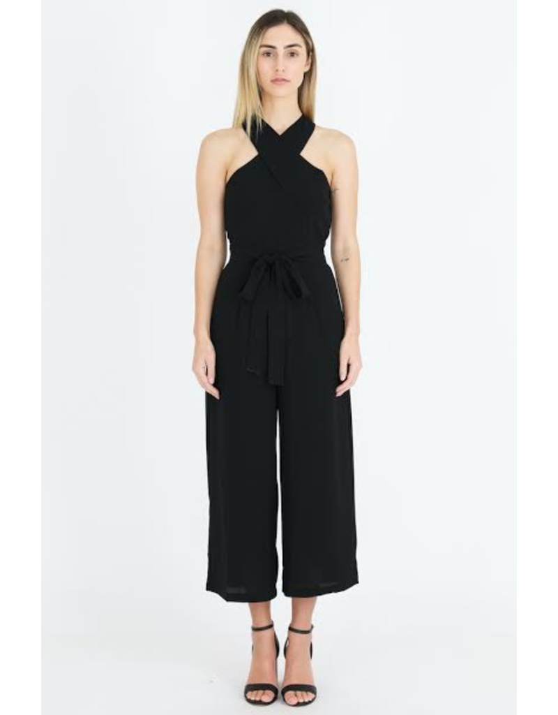 3rd Love The Label 3rd Love Chloe X Neck Jumpsuit