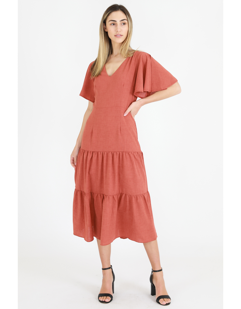 3rd Love The Label 3rd Love Lily Layer Midi Dress