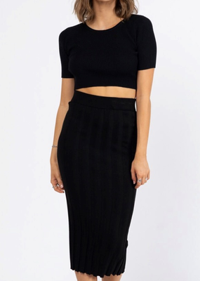 Wide Rib Skirt