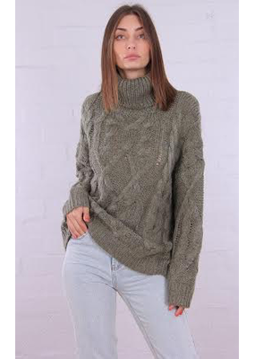 Riley Roll Neck Knit