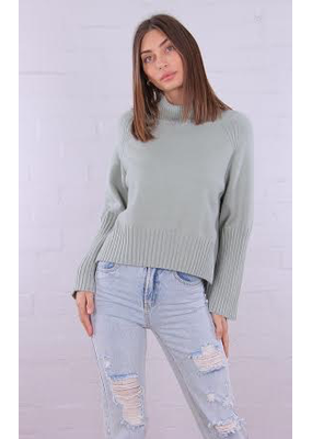 Raffy Rolled Neck Knit