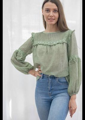 Brianna Top Green