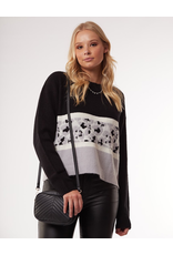 All About Eve All About Eve Leopard Knit Crew