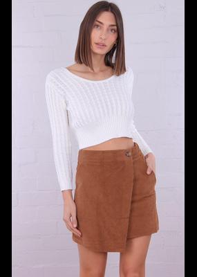 Hayley Cord Skirt