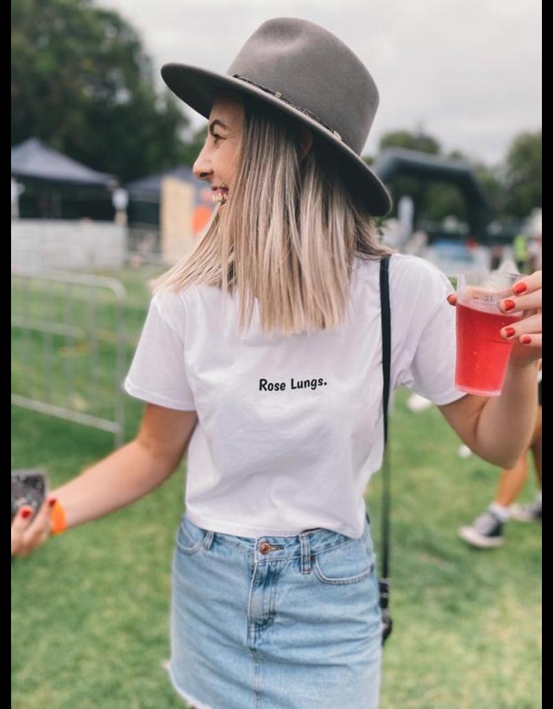 Olivia Rose Lungs Crop Tee