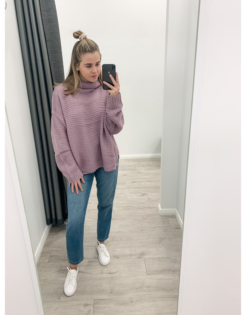 Skye Knit Lilac