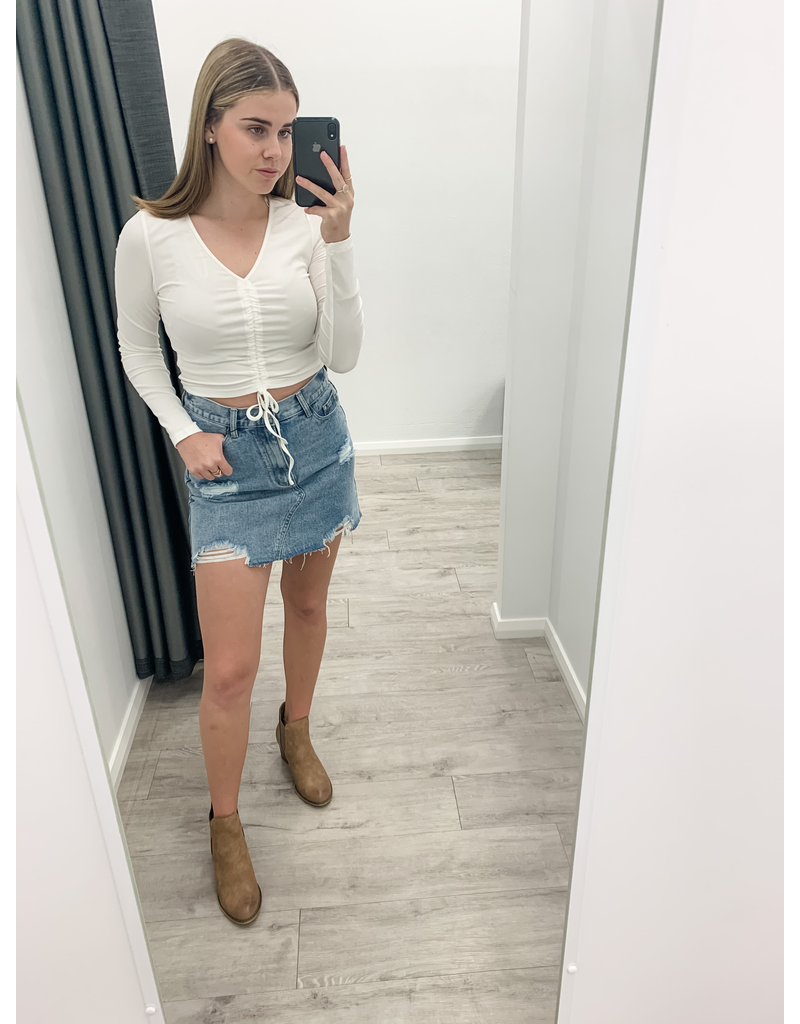 Marley Denim Skirt