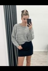 Bizare Knit Grey
