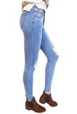 Wakee Light Wash Skinny Jeans