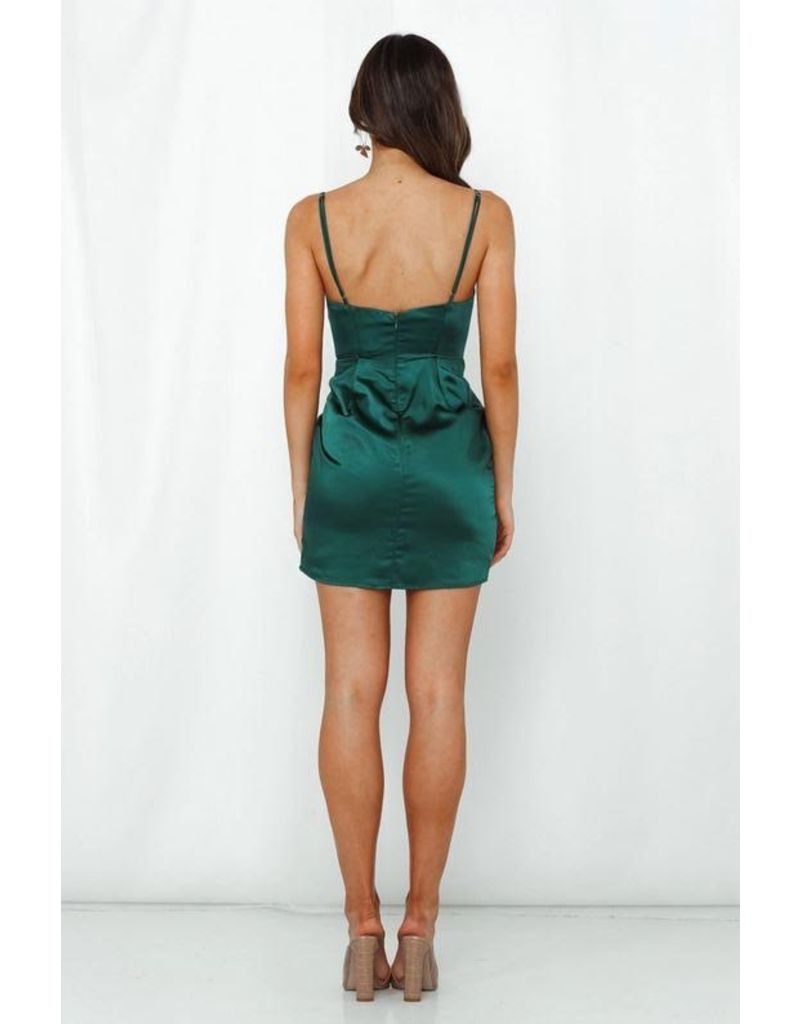 Sensation Satin Dress