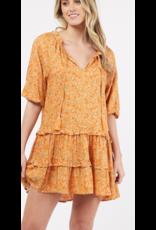 Sould Floral Swing Dress