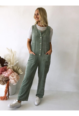Little Lies Keely Cord Overalls