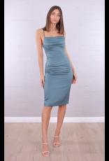 Kourtney Silk Slip Dress