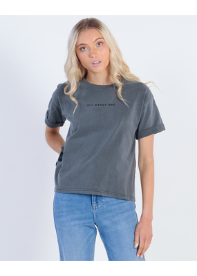 All About Eve All About Eve Washed Tee Black Washed