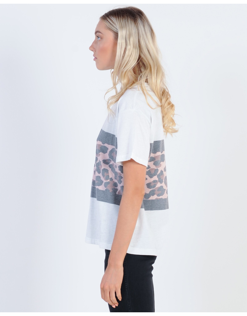 All About Eve All About Eve Leopard Panel Tee