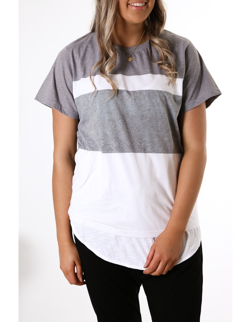 All About Eve All About Eve Snake Panelled Tee