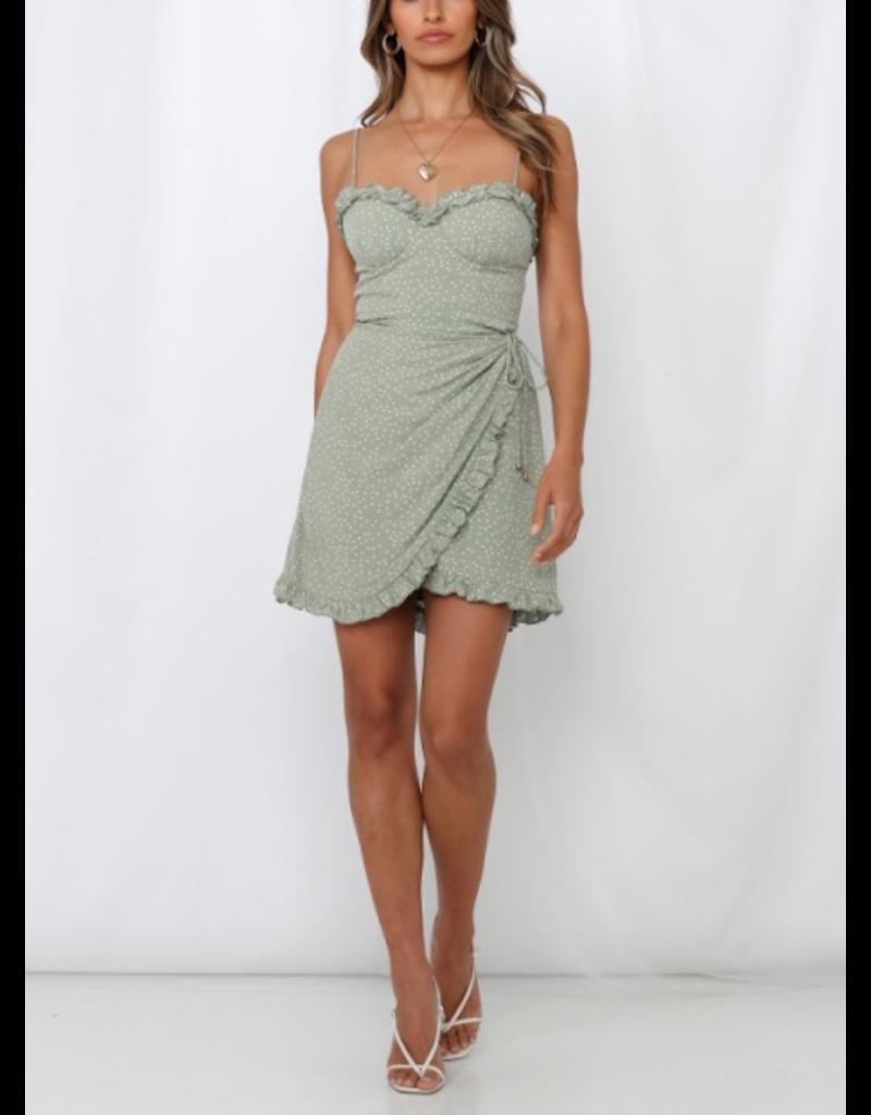Danae Polka Dot Dress