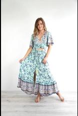 Salty Bright Jessie Floral Skirt