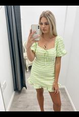 Jordan Checkered Mini Dress