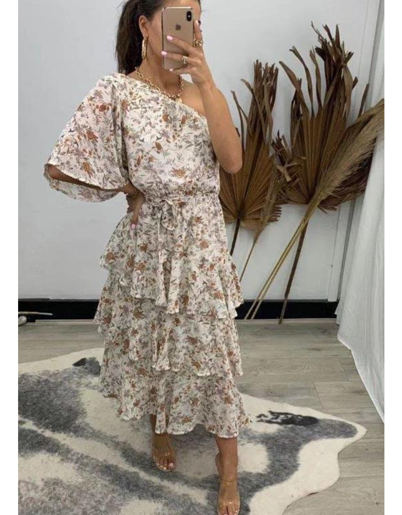 Portia One Shoulder Dress