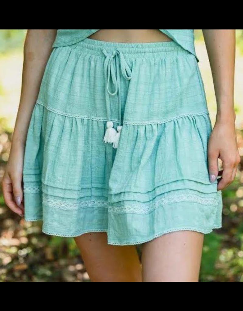 Novac Skirt Teal