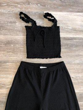 Pants Set- Black