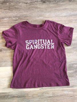 Spiritual Gangster T-Shirt- Wildberry