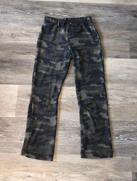 Wide Leg Pants- Camo