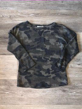 Long Sleeve Top- Camo