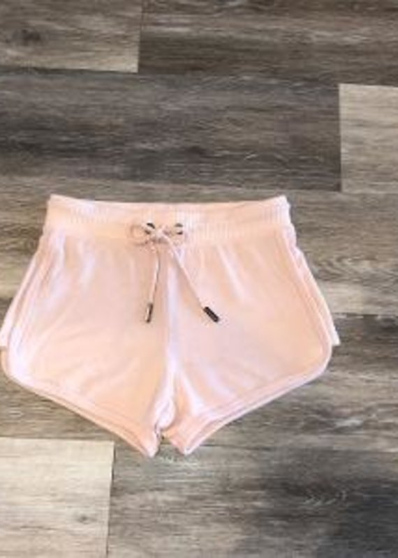 Pale Pink Shorts