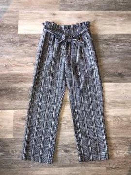 *SALE* Fate Tie Waist Plaid Pants