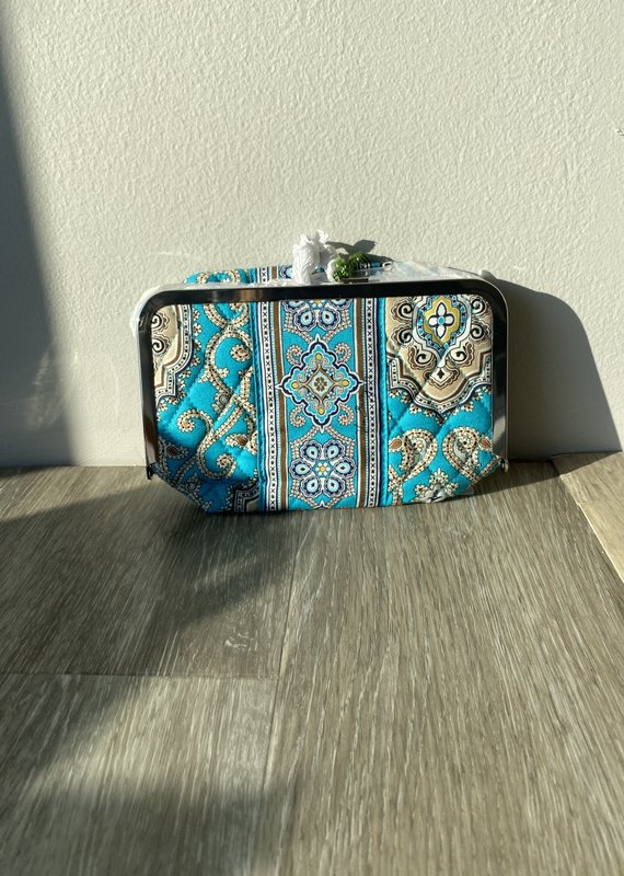 Vera Bradley Kiss& Makeup Bag
