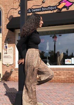 Cheetah Flowy Pants
