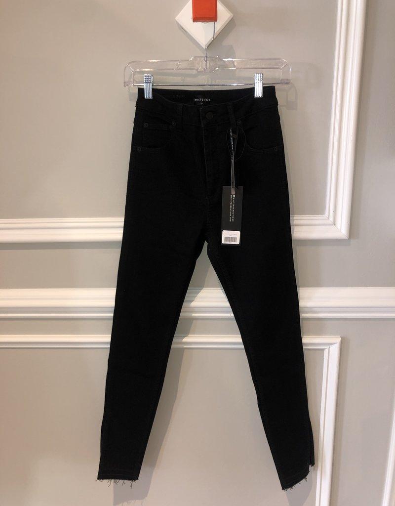White Fox Black Jeans Small