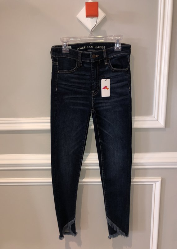 American Eagle Dark Denim Size 0