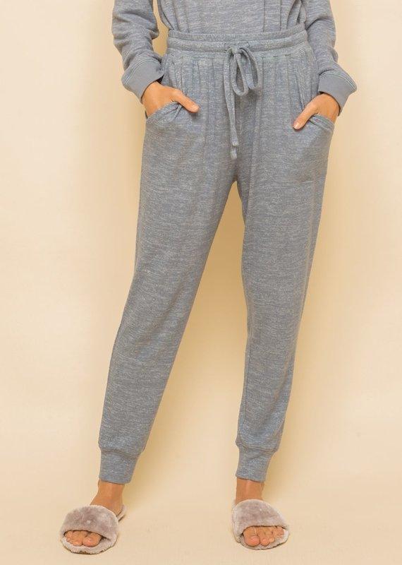 Skylar Blue Grey Sweatpants
