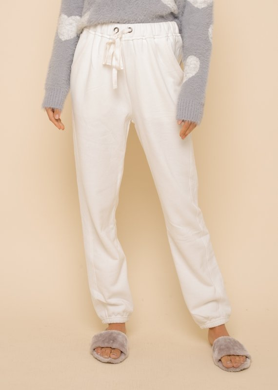 Kacey White Sweatpants