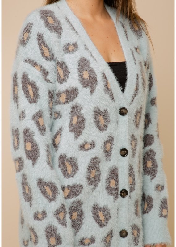 Emma Leopard Sweater