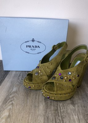 Prada Donna Sandal Size 8