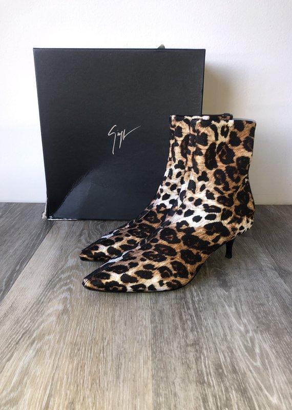 NIB Giuseppe Zanotti Leopard Boots Size 8