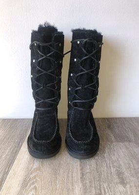 Black Lace Up Ugg