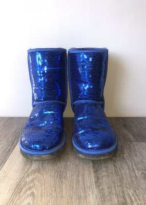 Blue Sequence Ugg Size 8