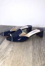 Prada Navy Blue Heels Size 41