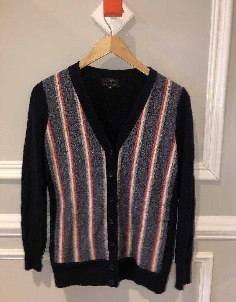 "JCrew ""Grandpa"" Cashmere Mix Sweater"