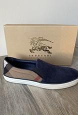 NIB Burberry London Gauden Suede Slipon Sneaker