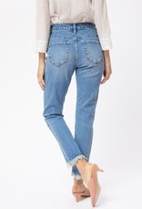 Mae High Rise Relaxed Fit Light Denim