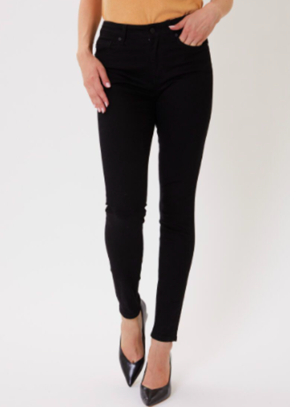 Gemma High Rise Black Skinny