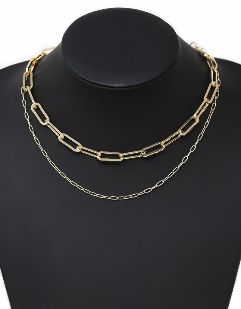 Linked Chain Necklace