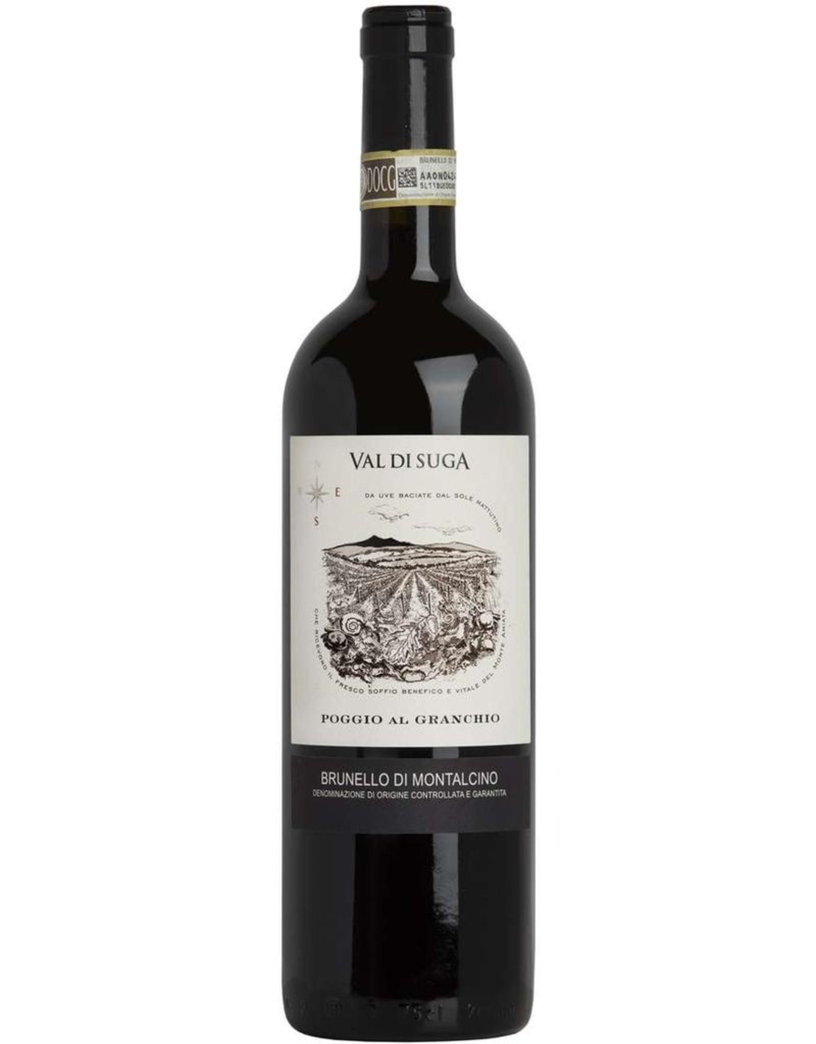 Red Wine 2010, Val Di Suga Poggio Al Granchio, Brunello di Montalcino, Sangiovese, Montalcino, Tuscany, Italy, 15% Alc, CT92.1, RP93
